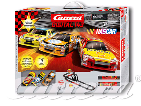 carrera digital 143 nascar 40004 3 car set wesellit. Black Bedroom Furniture Sets. Home Design Ideas