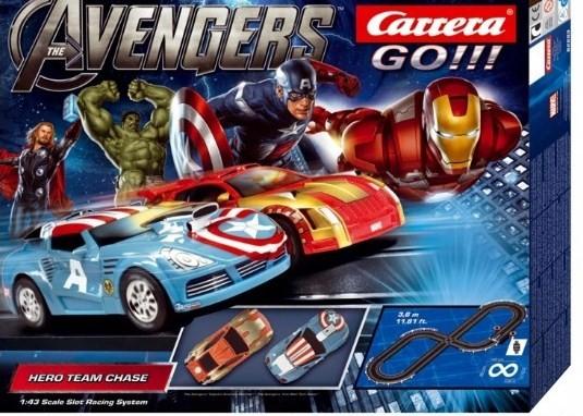 Carrera Marvel The Avengers Hero Team Chase Slot Car Set # 62283 -  WeSellit, Waterloo
