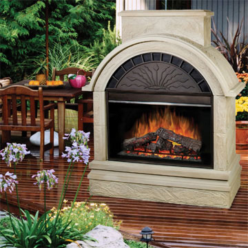 Dimplex Scottsdale Outdoor Electric Fireplace EMP OSTN 36