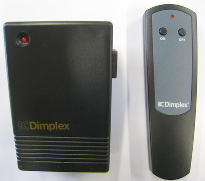 Remote Control For Dimplex Electric Inserts & Fireplaces ...