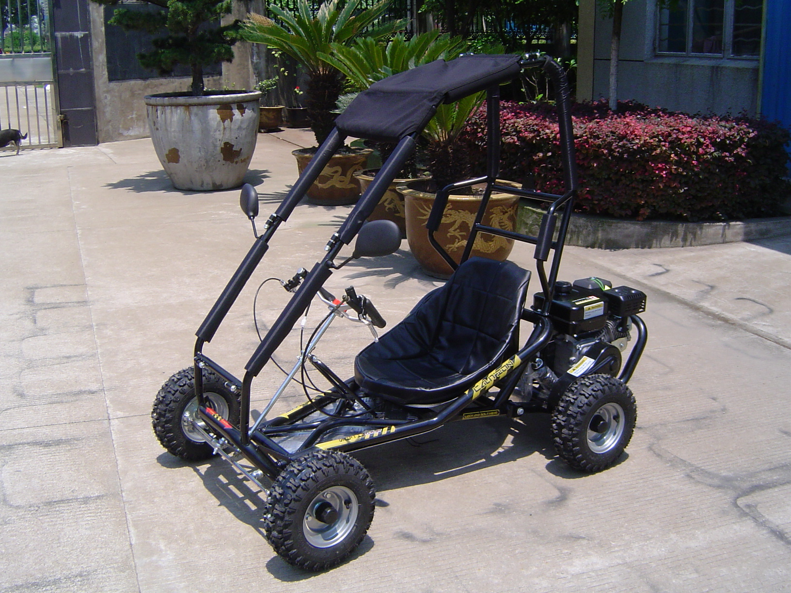 CLEAR-OUT SALE: 6.5hp 200cc Drift II Go-Kart/Dune Buggy w Roll Cage ...
