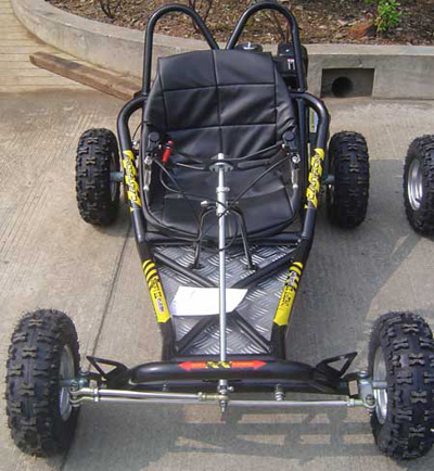 how to build a drift go kart frame