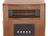 Dynamic Infrared Quartz Heater Model  1500 Dark Oak