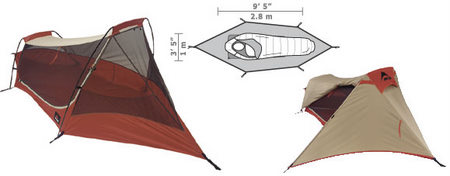 Product Images Return To Top  sc 1 st  WeSellit & MSR Zoid 1 Ultralight One Person Tent - WeSellit Waterloo