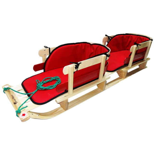 Toy Wooden Sleighs For Crafts